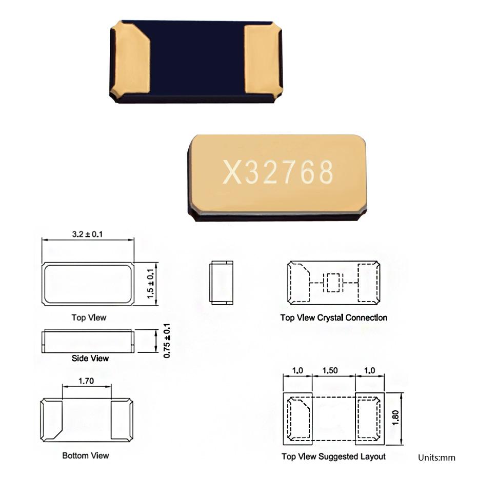 无源khz晶振3215