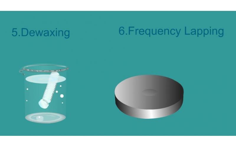 xghc晶振产品制程